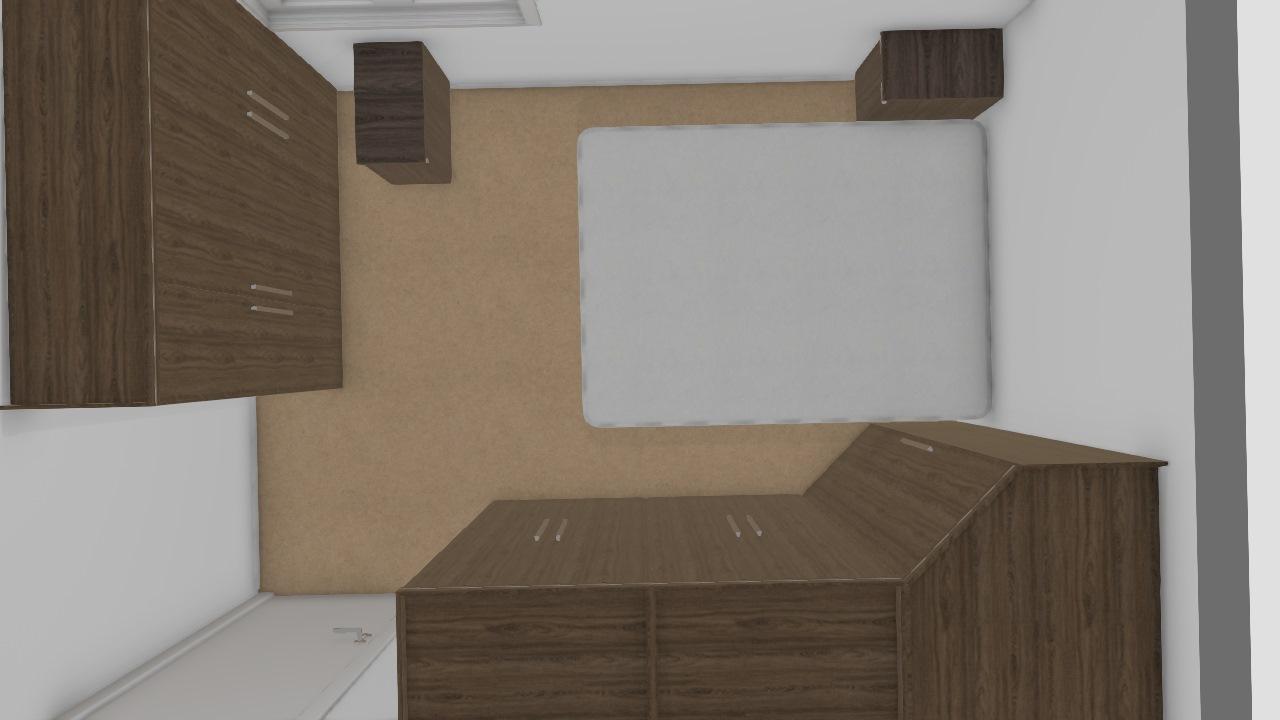 quarto 2  9,2m² Móveis Sul