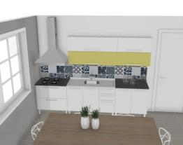 Cozinha Dandara Verde Agata