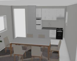 Sala Jantar e Cozinha