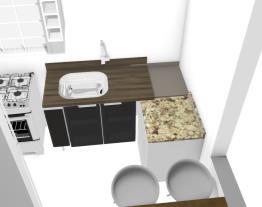 Cozinha movel reto