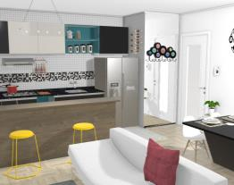 Living Room 2- Modern/ Vintage