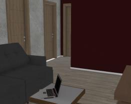 Projeto unidade residencial econômica 46m²