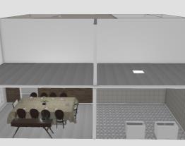 Projeto Modchic. company - Sala de estar/jantar