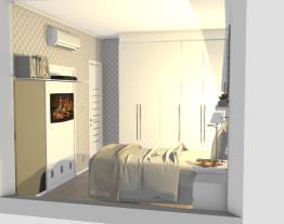 Quarto casal apartamento MRV