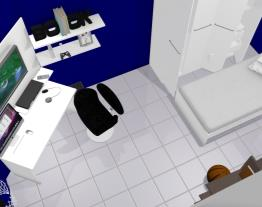 Projeto quarto masculino - solteiro