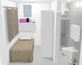 Quarto & Banheiro de Empregada Eva