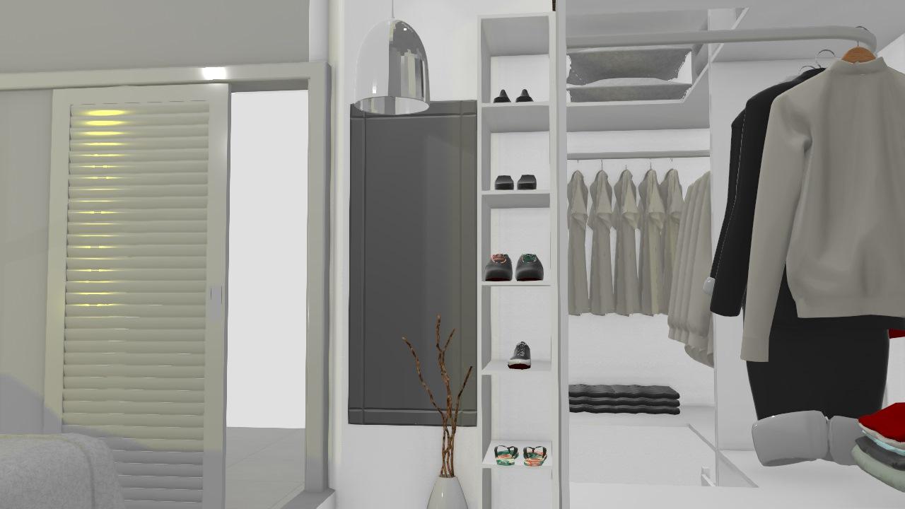 Meu quarto c/ closet