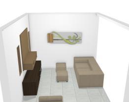 Sala com janela na lateral