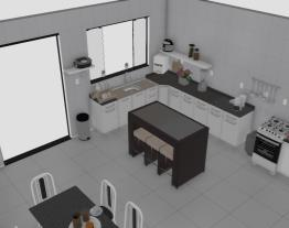 cozinha atual para análise