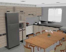cozinha com mesa II
