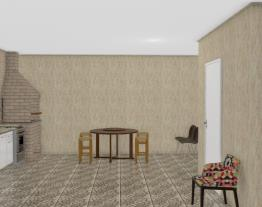 Salão de festas + Churrasqueira Alessandro & Cida