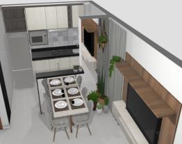 Sala e Cozinha AP MRV