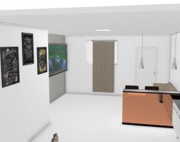 Cozinha - Sala