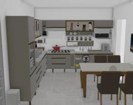 cozinha sem torre quente