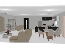 Cozinha(conceito aberto)