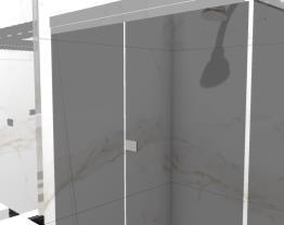 Prédio - Banheiro social opção com gesso