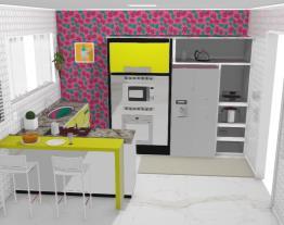 Projeto - Cozinha colorida