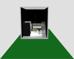Casa pequena estilo loft