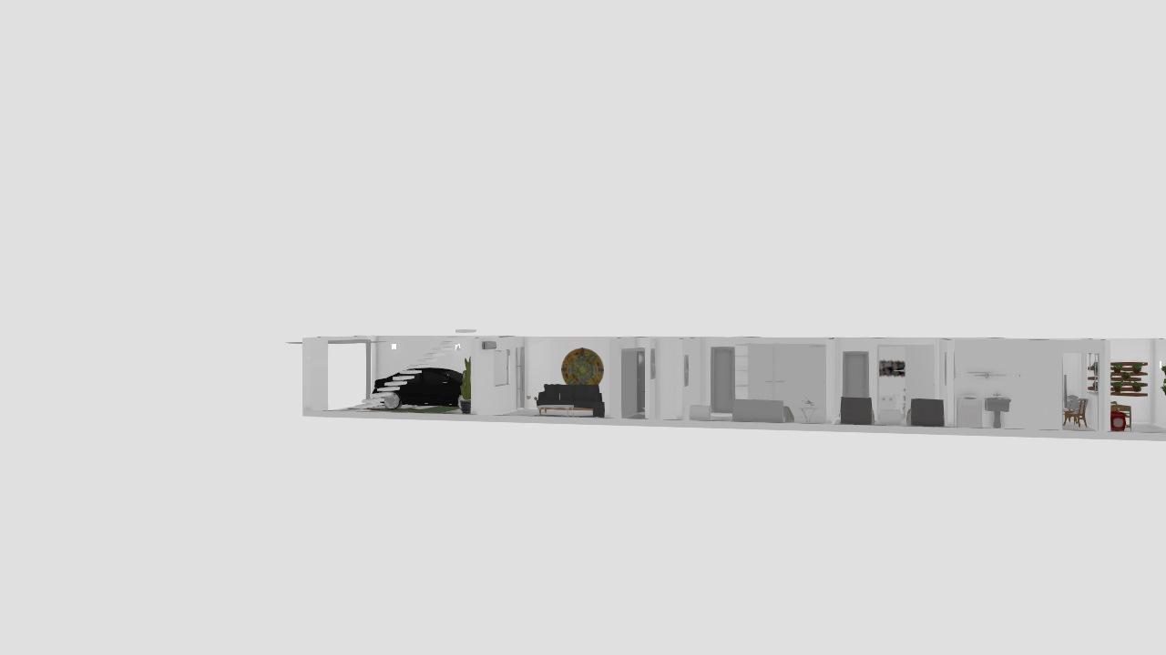 Casa linear 84m2