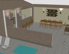 area da churrasqueira