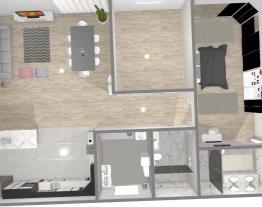 Casa térrea com 1 suíte, 1 quarto e 1 banheiro
