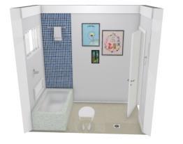 Casa -  banheiro corredor