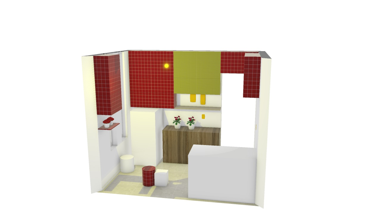 2,61 altura - Cozinha versão salva em 05-10 antes de dar bug - simulando caixotes