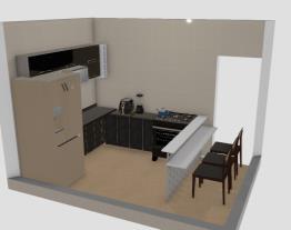 Cozinha s mesa