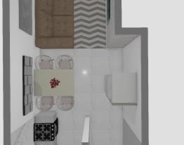 Meu projeto no Mooble cozinha 2o. piso b