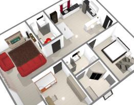 Casa Com 2 quartos