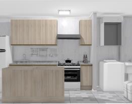 Cozinha com área (04)