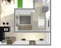 cozinha e sala