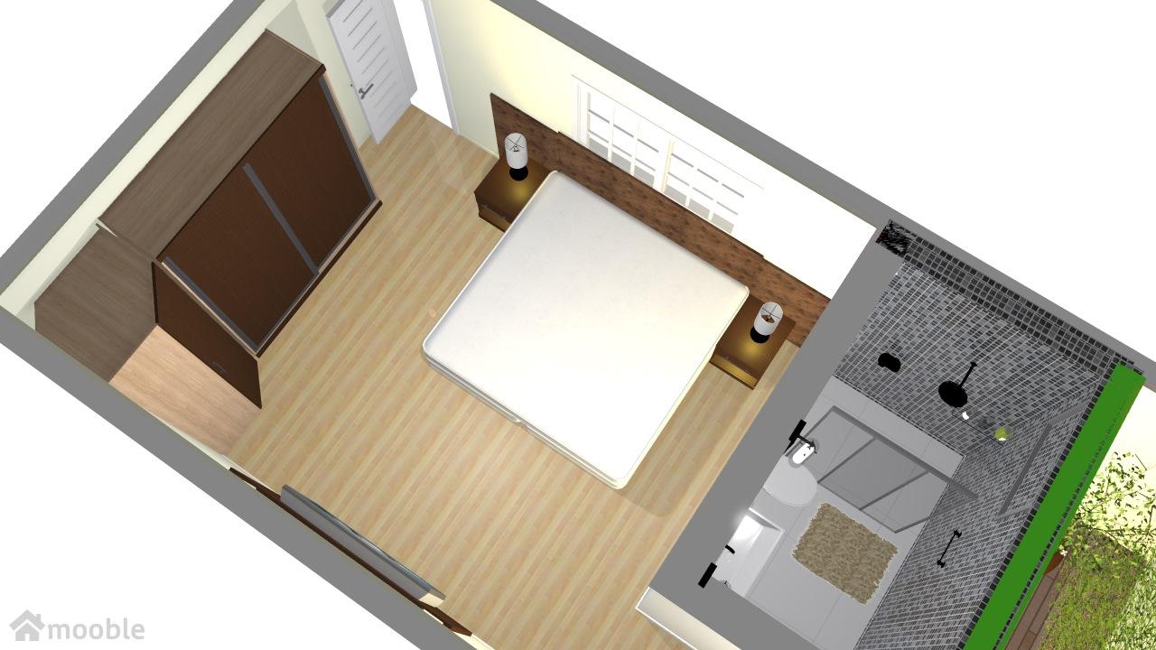 meu quarto com area de luz modelo 1
