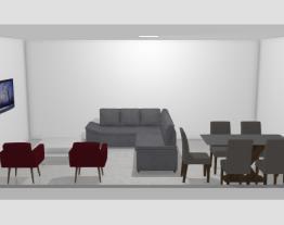 Sala de estar/De jantar