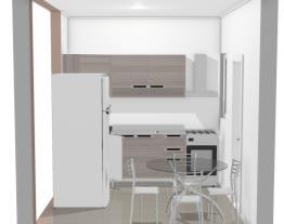 cozinha mesa quadrada