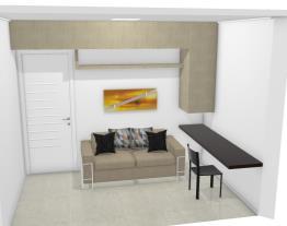 home office + quarto de hóspede