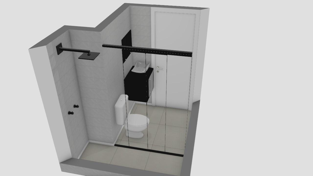 Banheiro social Lidiane