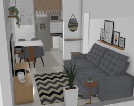 Sala e Cozinha Daniel Veiga