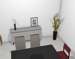Sala de jantar casinha