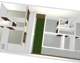 Casa frente e Edìcola (Mobiliada)