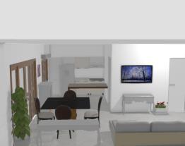Sala integrada Loja CasaMob