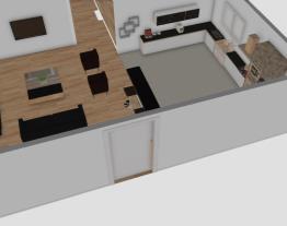 casa simples, 3 quartos