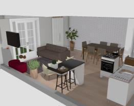 sala cozinha mae