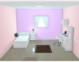 plano quarto apartamento novo