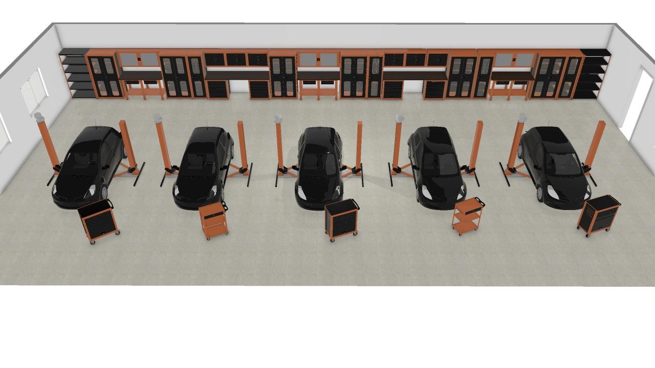 Oficina Modelo 2 De Tiago Planta 3d Mooble Tramontina Pro