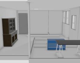 planta Baixa APt  com mobilia