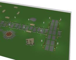 Praça bioarquitetura