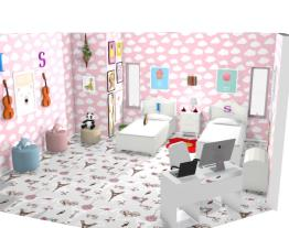 Meu quarto de irmãs
