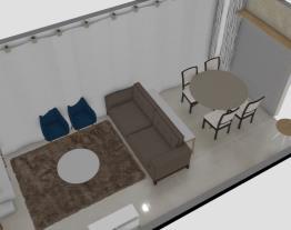 1 sala com ripas  barcelo