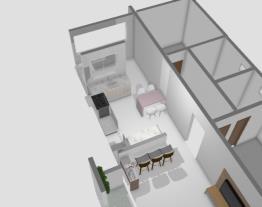 sala,cozinha e área de serviço